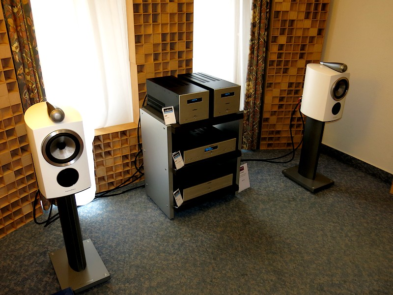 Audionet & B&W 805 D3