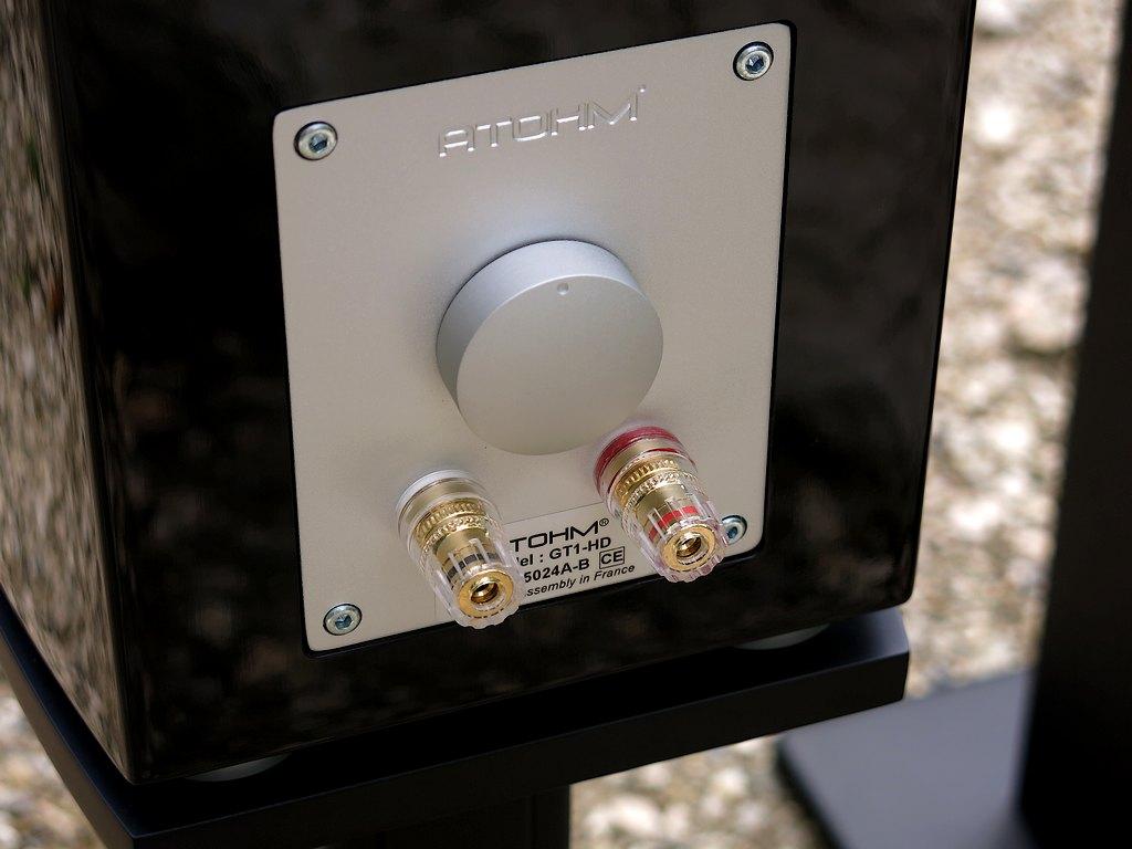 Atohm GT1-HD 1024 Rückseite