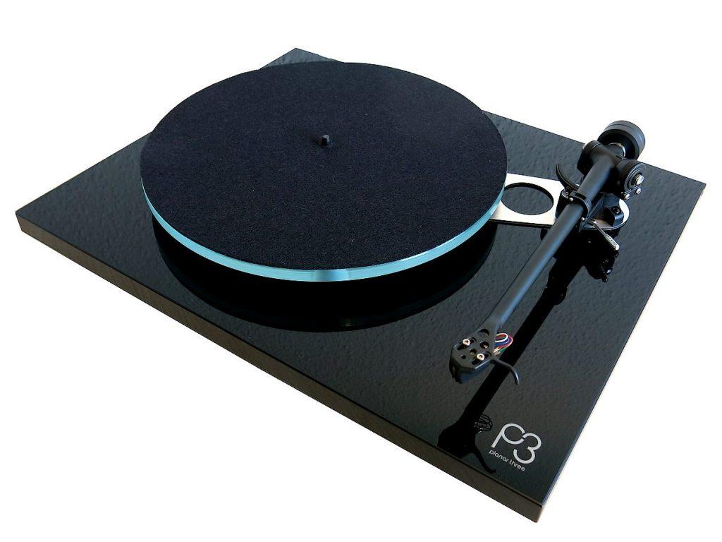 Plattenspieler Rega Planar 3 und Tonabnehmer TAD Excalibur Green im Test