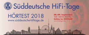 Süddeutsche HiFi-Tage Stuttgart 2018 @ Holiday Inn Stuttgart