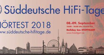Süddeutsche HiFi-Tage 2018 Logo