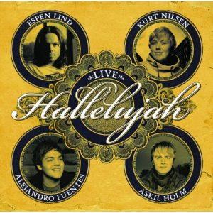 """Cover des Album """"Hallelujah"""" von Espen Lind"""