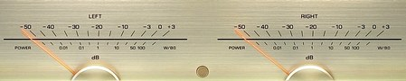 Yamaha VU-Meter