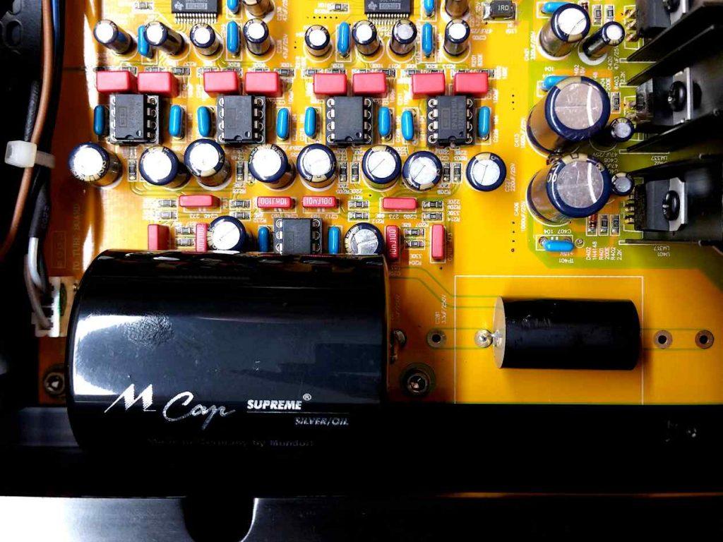 Ayon CD 7 mit Mundorf Kondensatoren