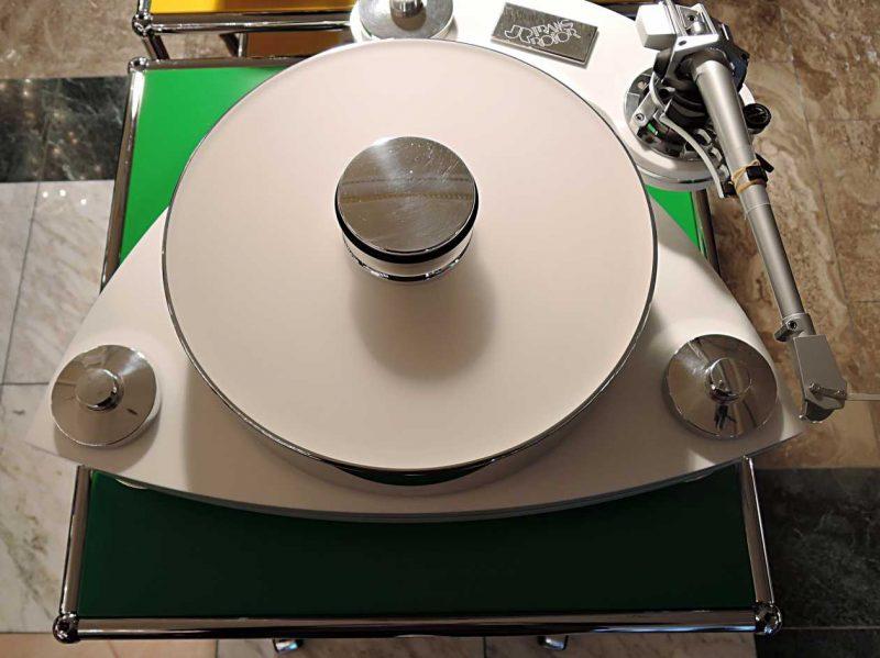 Plattenspieler Transrotor Crecendo Bianco