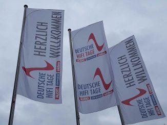 Deutsche HiFi Tage Darmstadt 2017 Flaggen