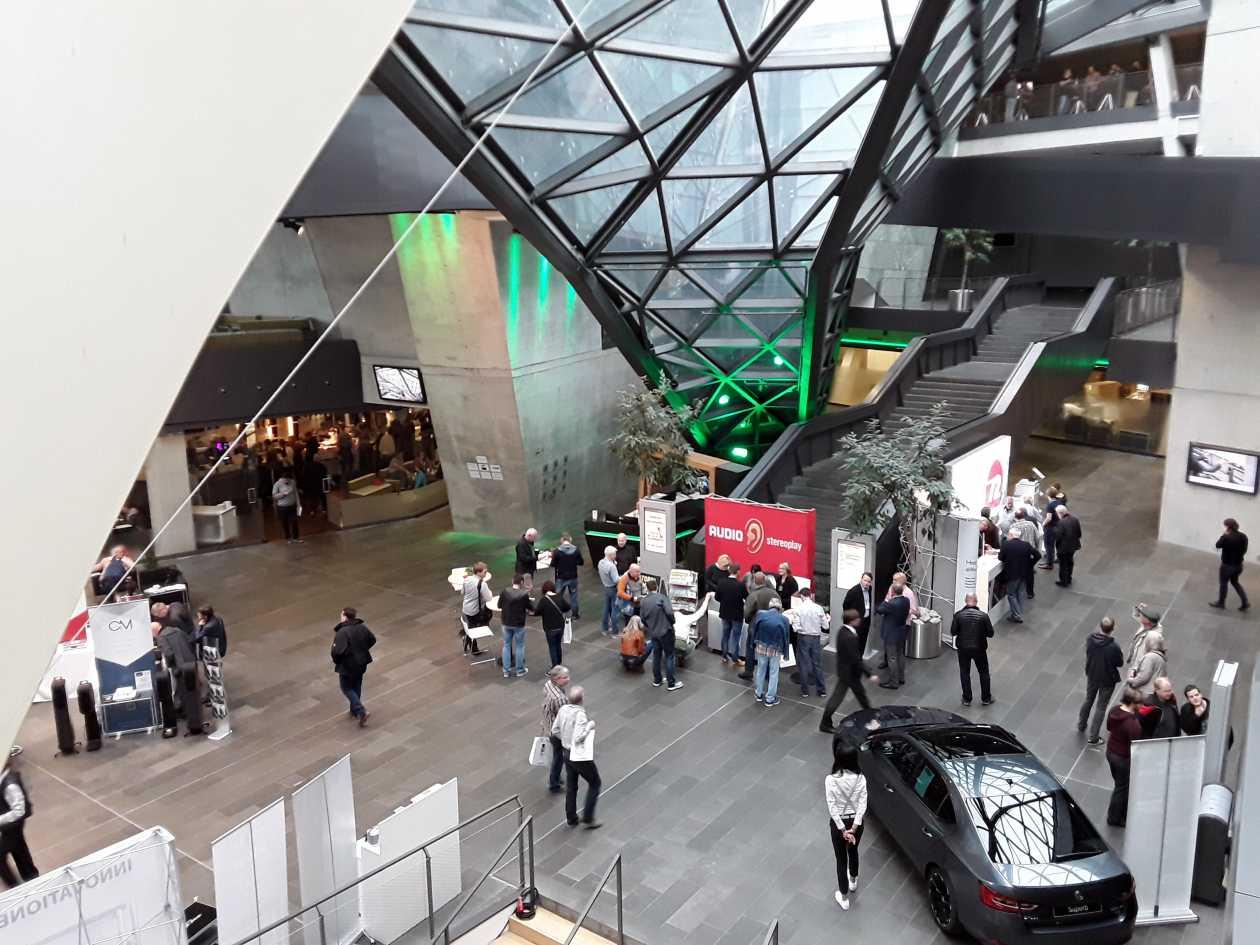Deutsche HiFi Tage Darmstadt 2017 Halle