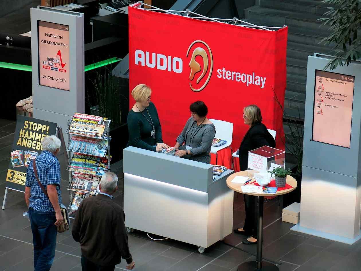 Stand des Weka Verlags auf den Deutschen HiFi-Tagen
