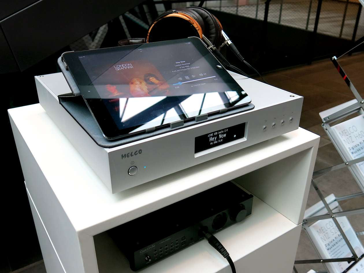 Melco Musikserver mit Questyle 400i