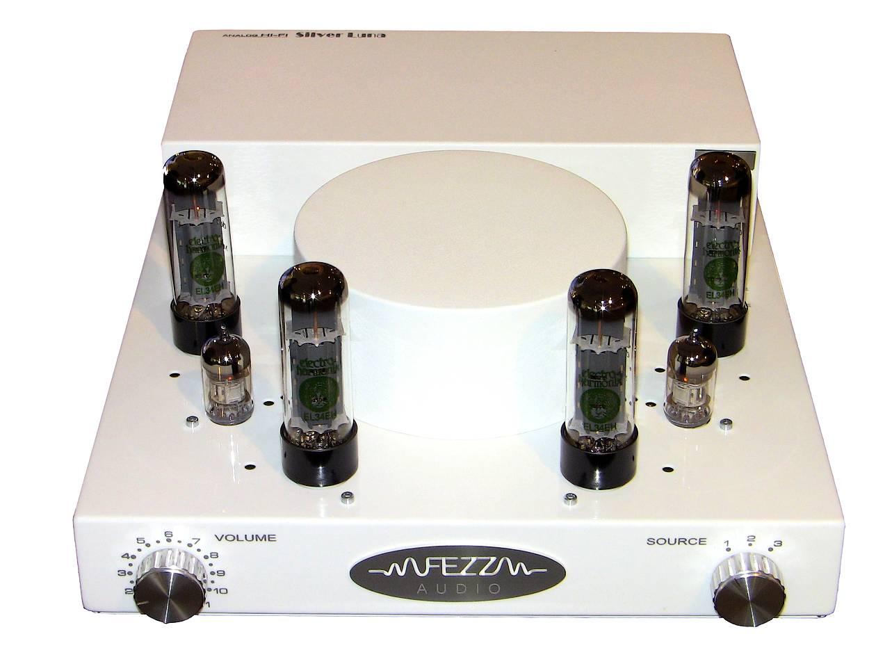 fezz audio silver luna signature roehrenverstärker in weiss
