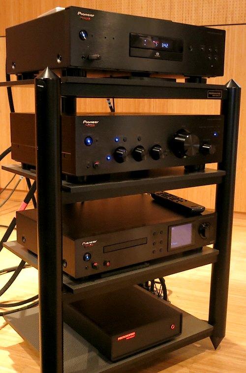 Pioneer A70 und PD50 getunt von Phonosophie
