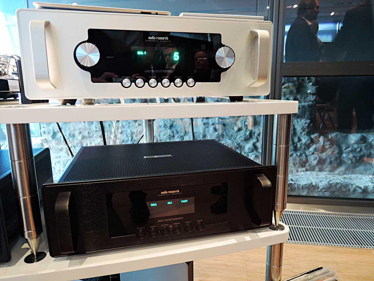 DAC und Vorverstärker Audio Research LS 28 und DAC 9