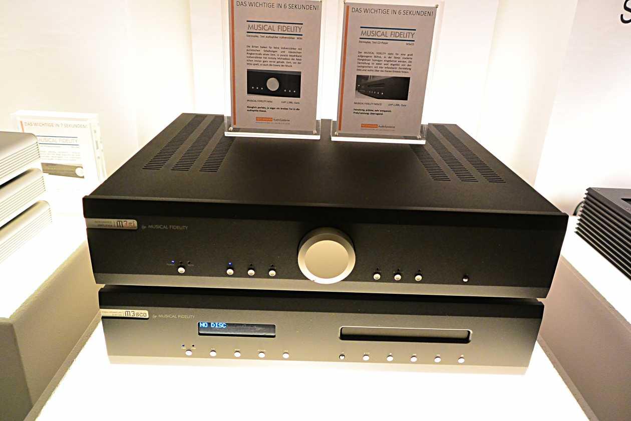 Vollverstärker Musical Fidelity M3si CD Player Musical Fidelity M3scd