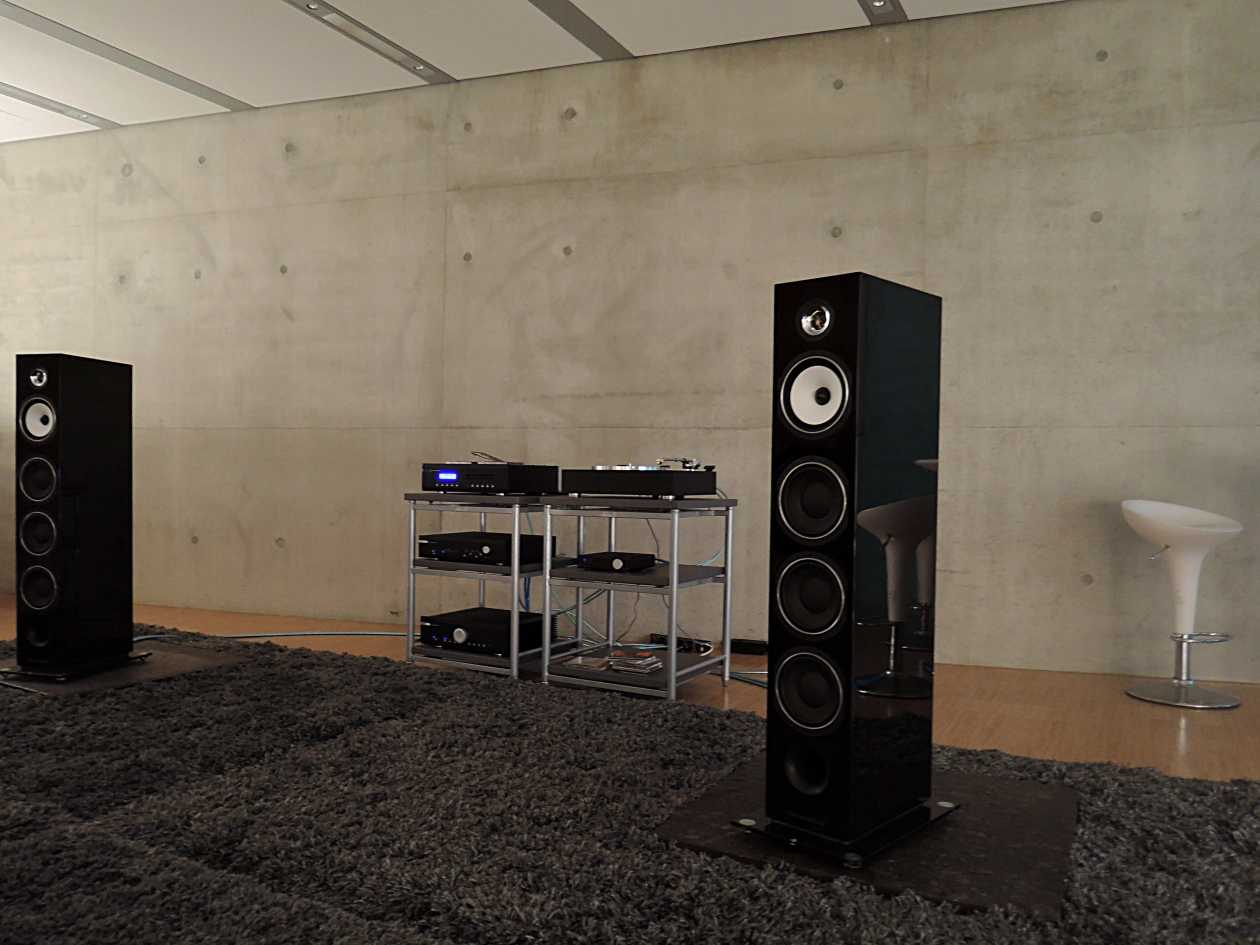 Musical Fidelity mit Triangle
