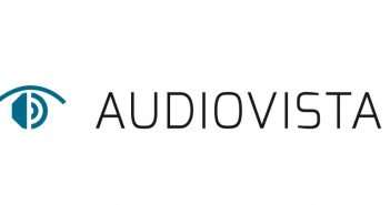 Logo der Audiovista in Krefeld