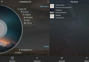 Cocktail Audio X35 App