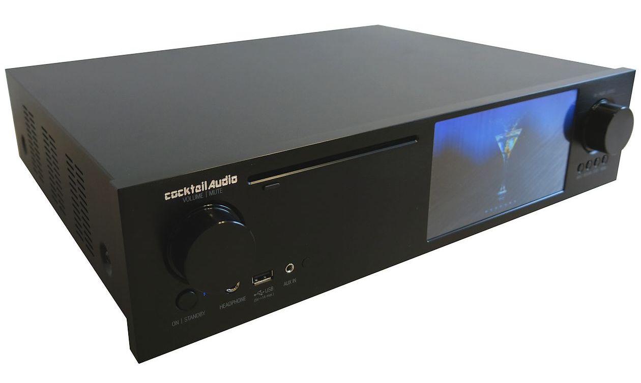Cocktail Audio X35 Front in schwarz