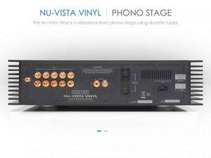 Phonoverstärker Musical Fidelity Nu Vista Vinyl Phonostage Rückseite
