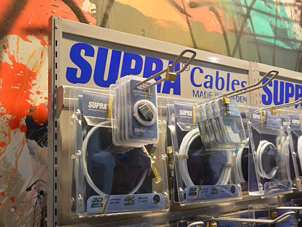 Kabel von Supra Cables