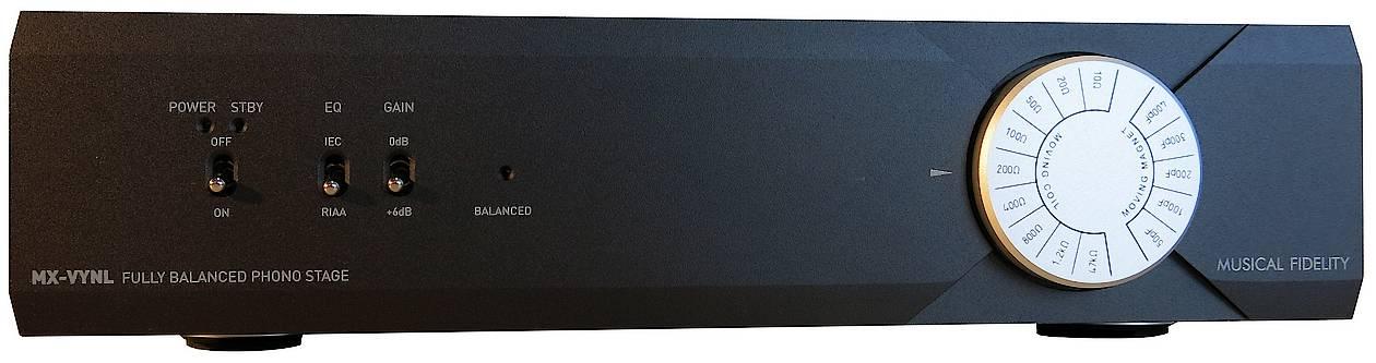 Musical Fidelity MX VYNL Phonovorverstärker Front