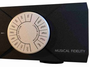 Musical Fidelity MX VYNL Phonovorstufe Wahlschalter