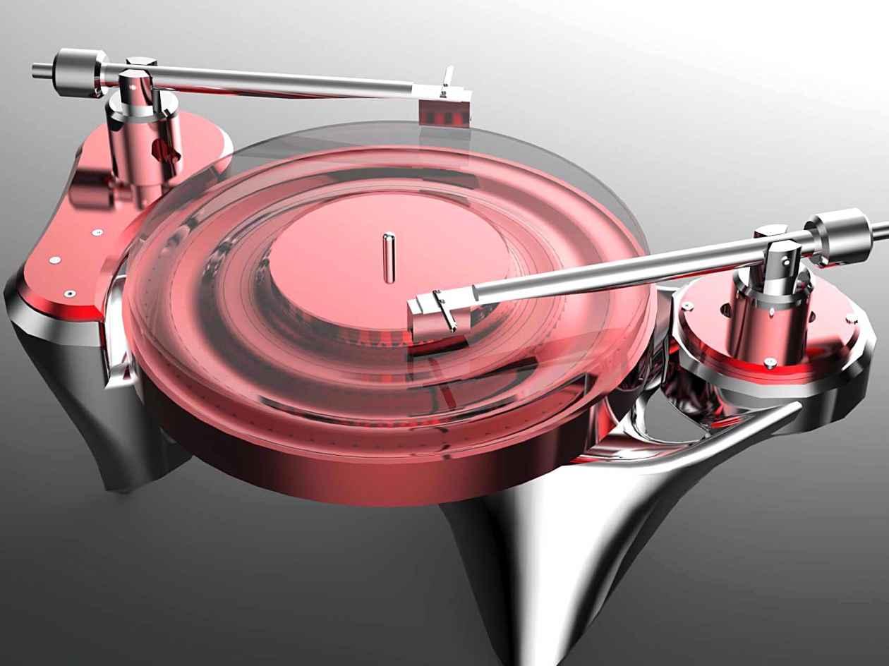 Vinyl Plattenspieler Metaxas Phonographic Preambulator No.1