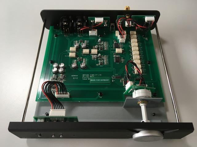 Musical Fidelity MX VYNL Phonoverstärker innen