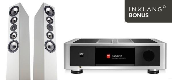 Inklang Lautsprecher 17.5 und NAD Masters 32