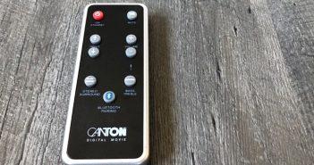 Standlautsprecher Canton GLE 496.2 BT Fernbedienung