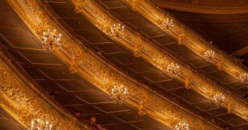 "Wagners Oper ""Siegfried"" aus dem Ring der Nibelungen im Bolschoi Theater Moskau"