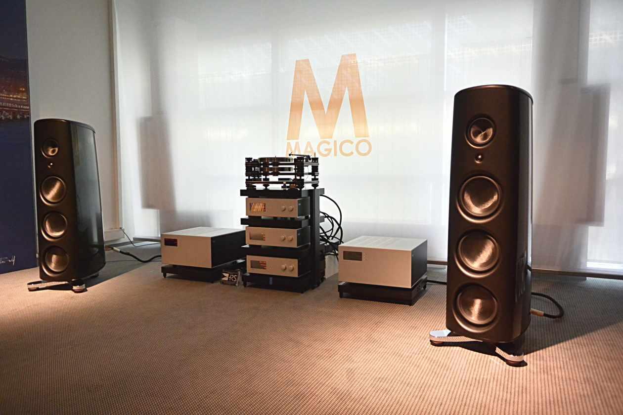 Soulution mit Magico M6