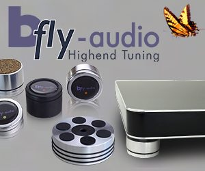 bfly-audio Lautsprecherabsorber Lautsprecherfüsse