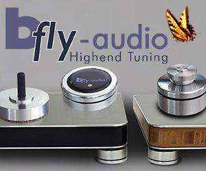 bfly-audio Absorberbasen für Plattenspieler und HiFi-Elektronik