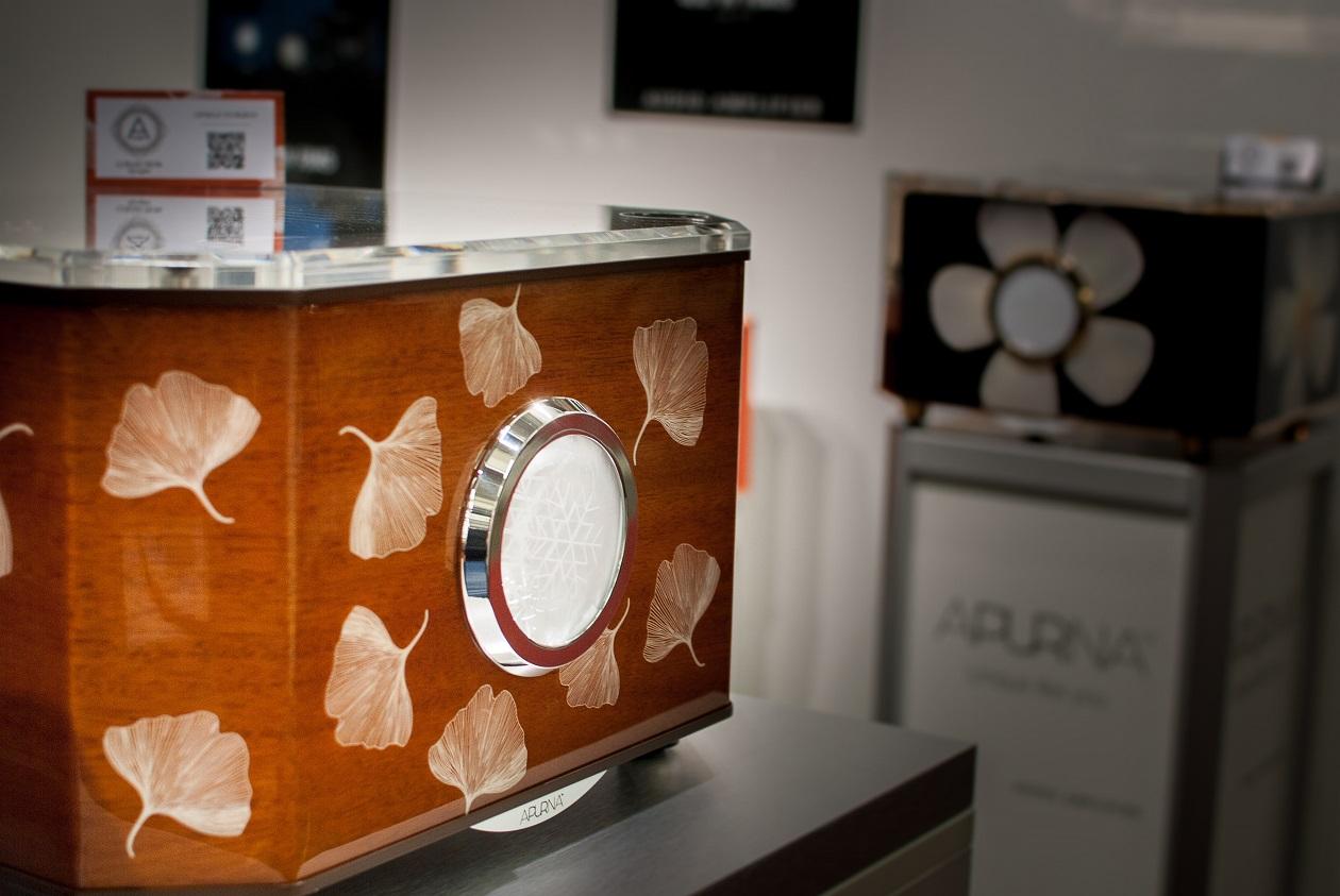 Apurna Verstärker im handwerklich kunstvollem Gewand (Foto: F. Visarius)
