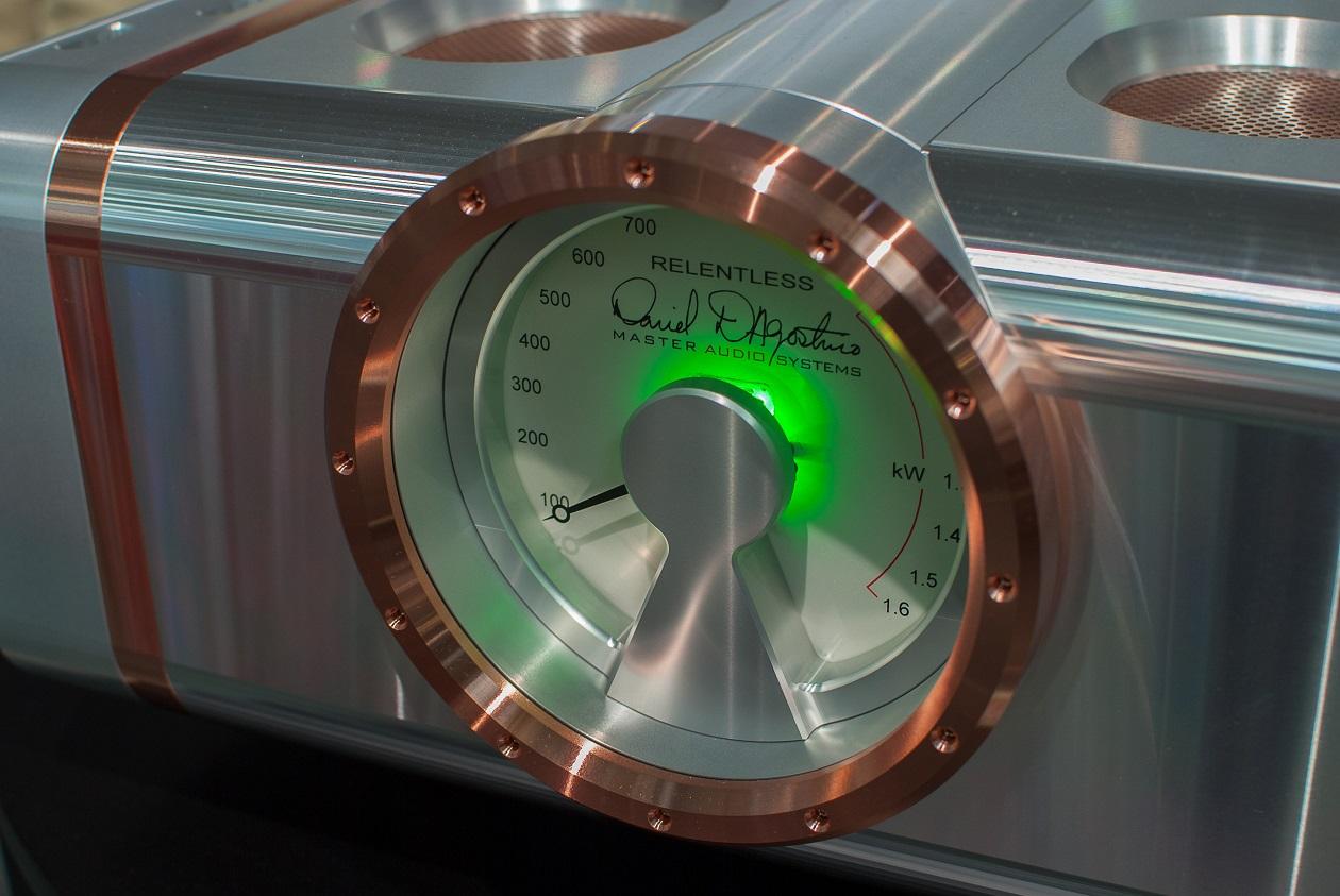 Daniel D'Agostinos Power-Amp - markantes Zentralinstrument