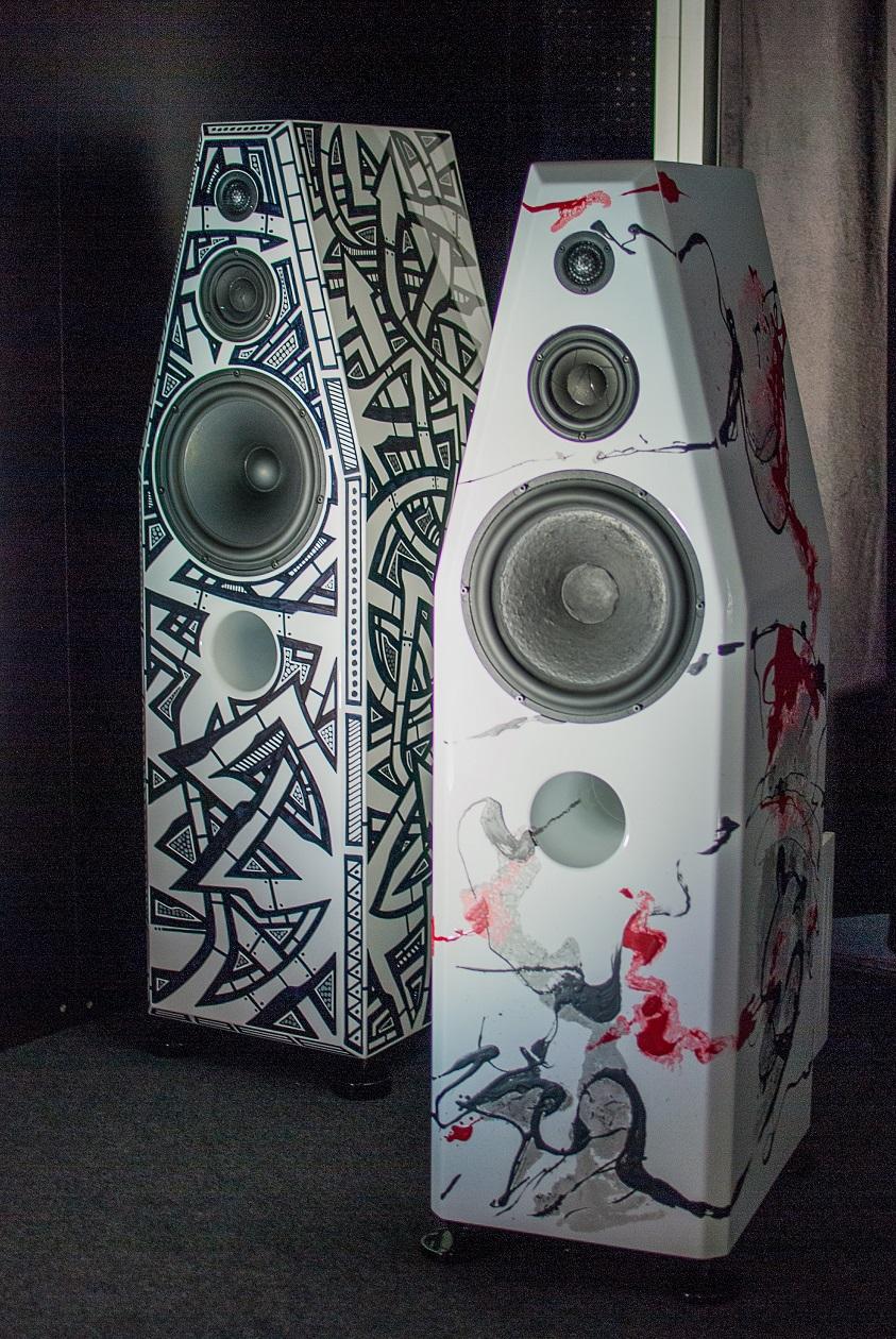 Art Vibes Lautsprecher (Foto: F. Visarius)