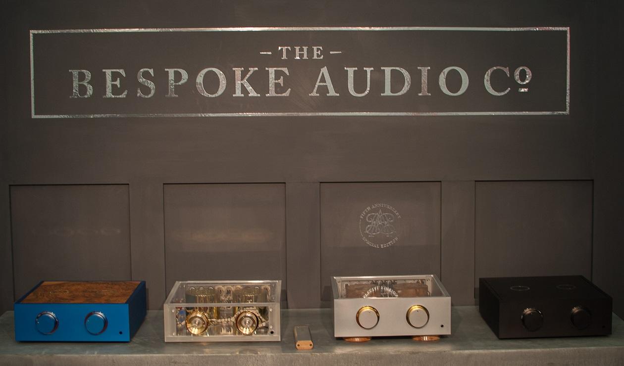 The Bespoke Audiocompany - Vorverstärker im individuellen Gewand - eine kleine Auswahl (Foto: F. Visarius)