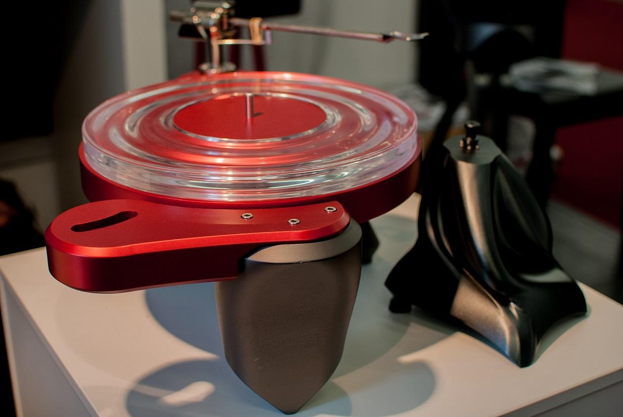 Plattenspieler Metaxas Phonographic Perambulator PP1 (Foto: F. Visarius)