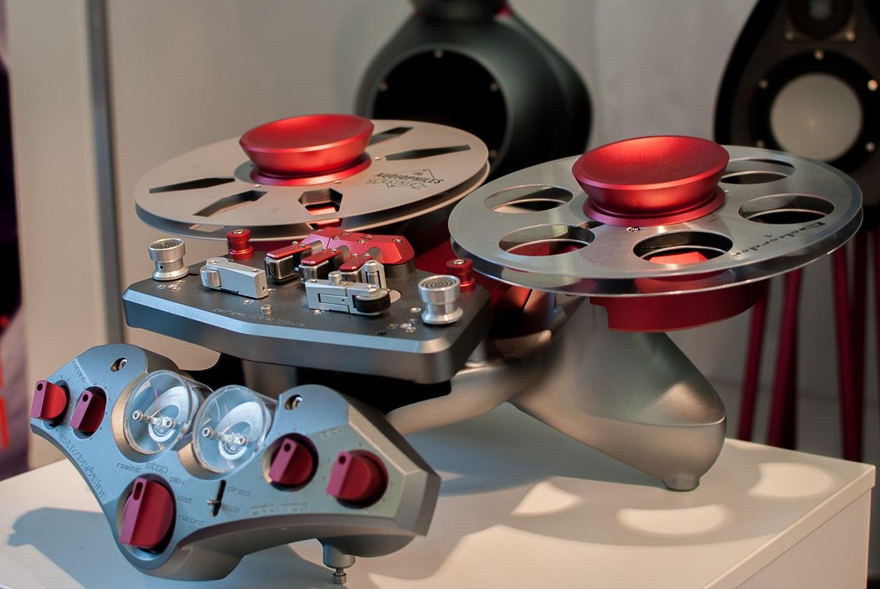 Tonbandgerät Metaxas GQT R2R Tape Recorder (Foto: F. Visarius)