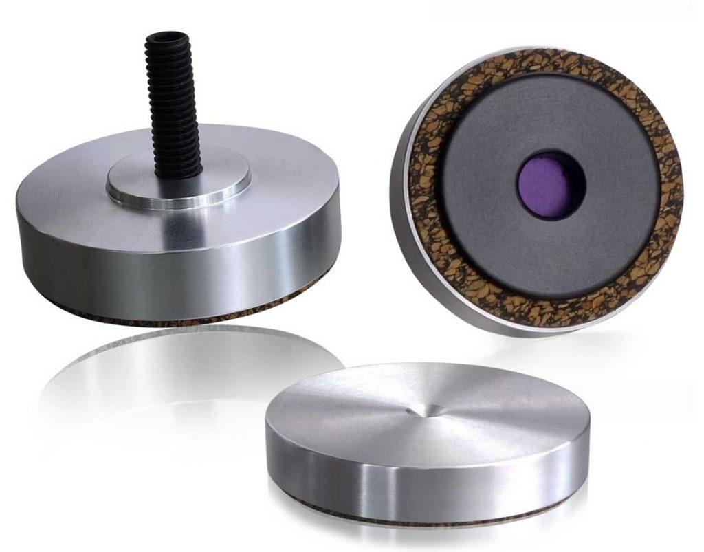 Lautsprecherfüsse Talis Pr b.Disc (Bild: Hersteller)