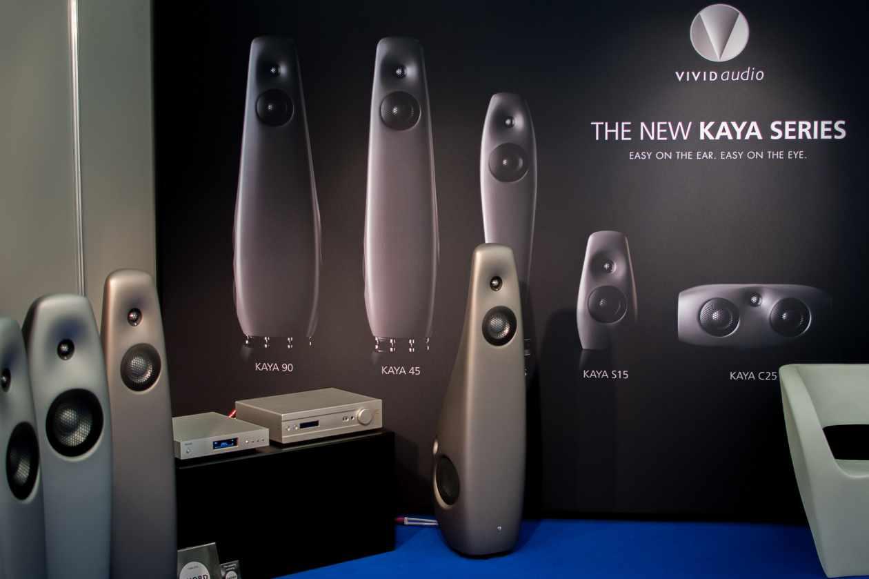 VIVID Audio KAYA - Lautsprecher mit weichen Formen