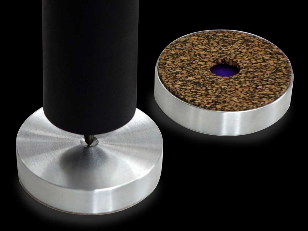 Lautsprecherfüsse für Spikes und HiFi-Racks