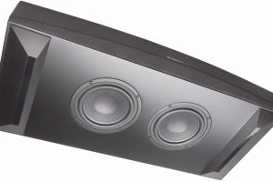 Subwoofer des Cambridge TV5