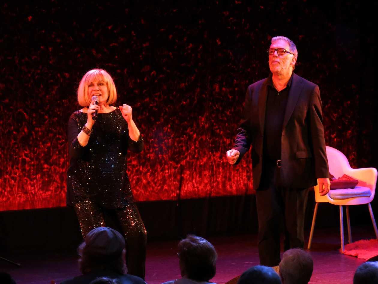 """Mary Roos & Wolfgang Trepper """"Nutten, Koks und Erdbeeren"""" im Schmidt Theater in Hamburg 2018"""