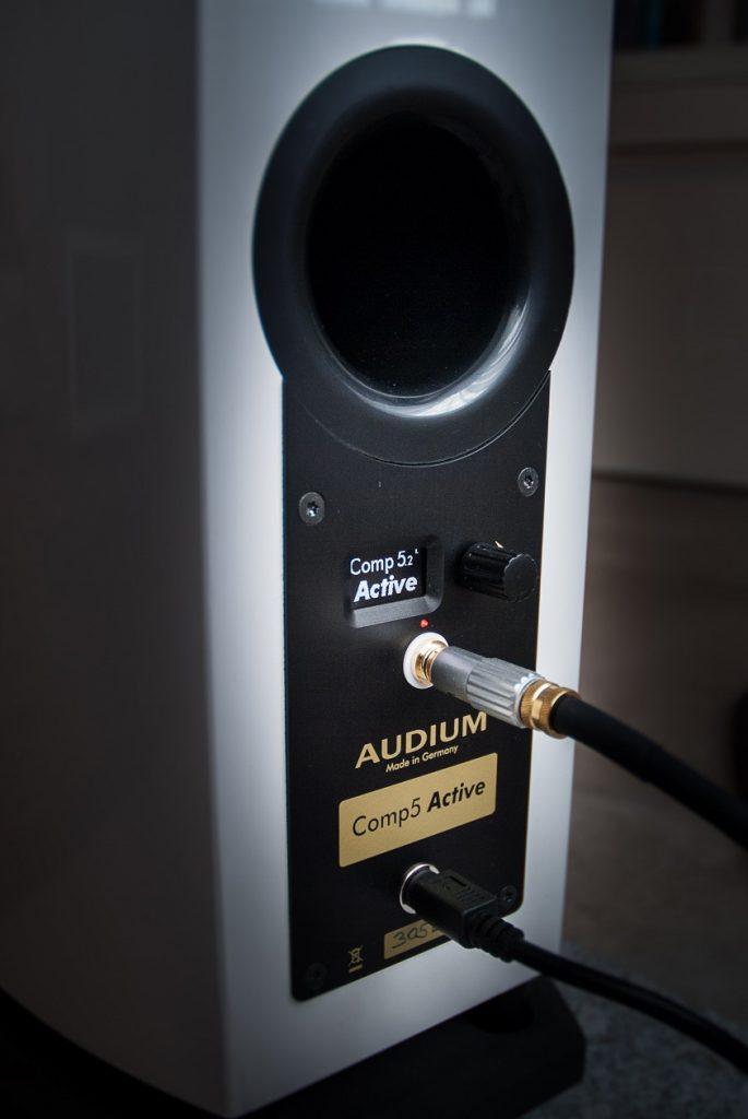AUDIUM Comp 5.2 Active - das Anschlussterminal mit Benutzerschnittstelle