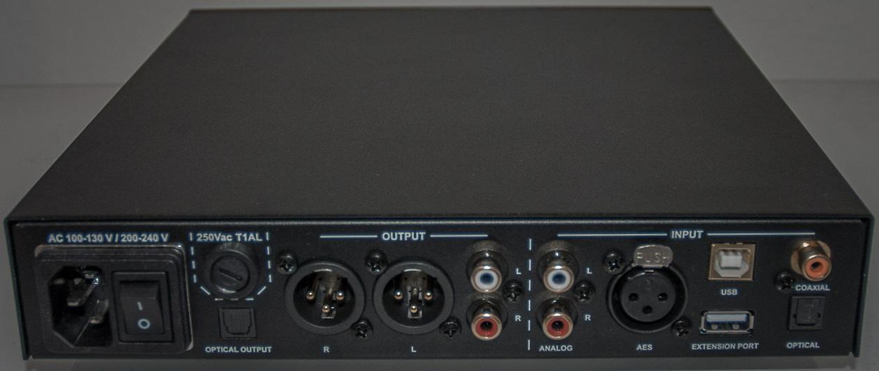 NuPrime DAC-9 Wandler-Vorverstärker - Anschluss-Möglichkeiten