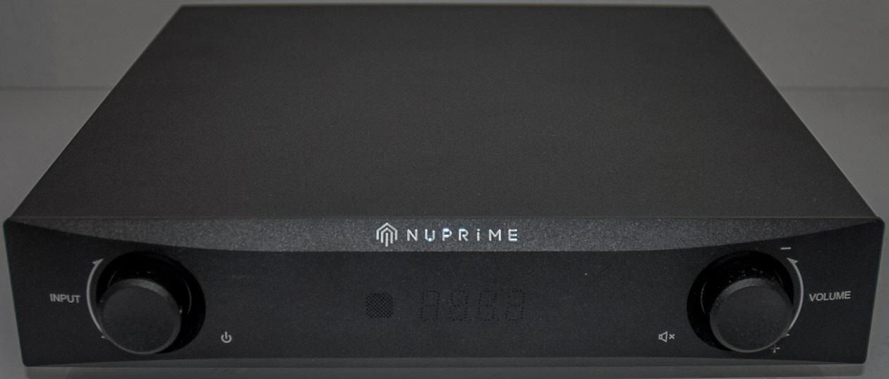 NuPrime DAC-9 Wandler-Vorverstärker - Front