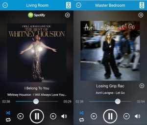 D-STREAM AIR APP für Apple und Android mit Multi-Room Funktionalität