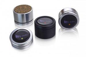 bfly Audio Pure. Füße für Verstärker, CD-Player, Netzwerkplayer und viele weitere HiFi- und High End Geräte