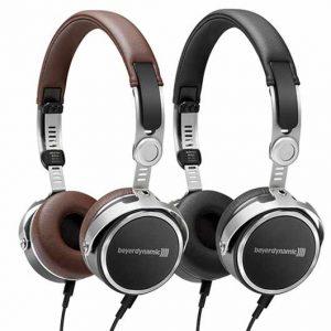 Kopfhörer Beyerdynamic Aventho Wired in braun und schwarz